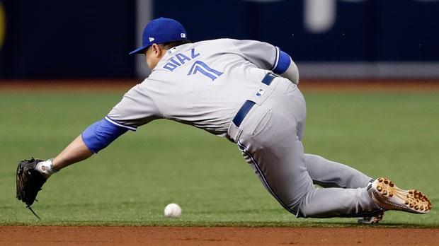 Toronto Blue Jays shortstop Aledmys Diaz