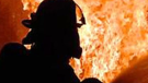 A firefighter is seen in this undated image.