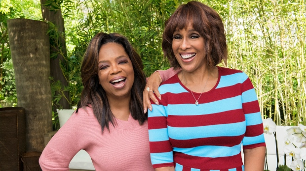 Oprah Winfrey and Gayle King