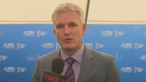 CTV News Channel: TSN's Rick Westhead in Moscow