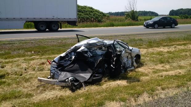Transport driver facing charges in 401 crash | CTV News Windsor