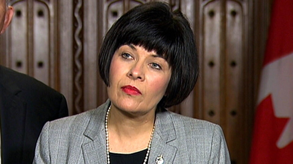 Health Minister Ginette Petitpas Taylor responds to marijuana bill amendments, Wednesday, June 13, 2018.