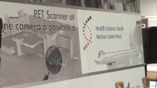 Health Sciences North PET scanner