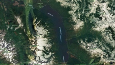 An 18-year-old swam into Chilliwack Lake to retrieve a drifting boat, but never made it back to shore. (Google Maps)