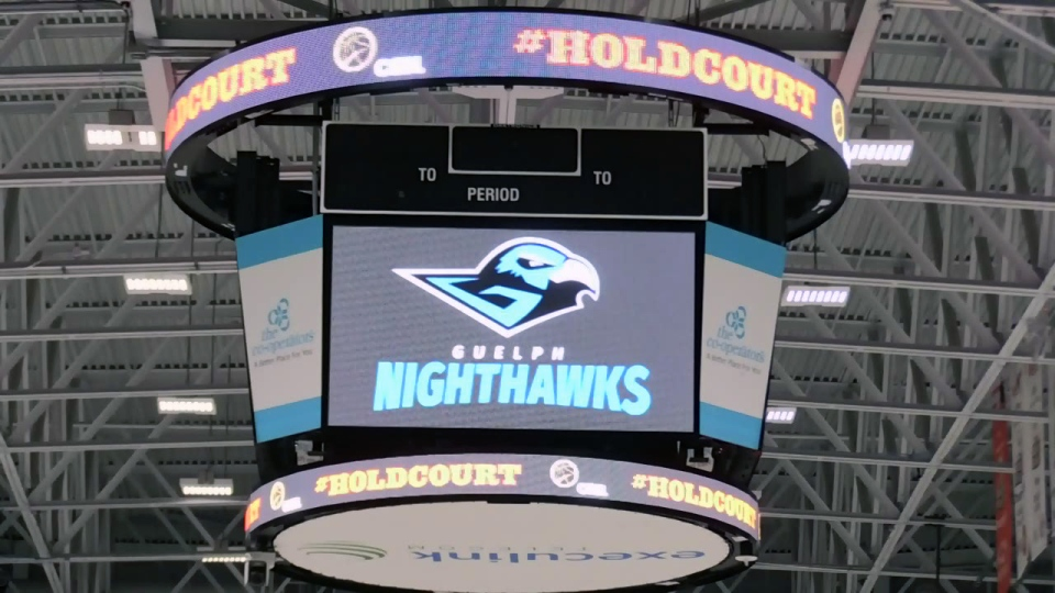 The Guelph Nighthawks will play out of the Sleeman Centre starting in the summer of 2019.
