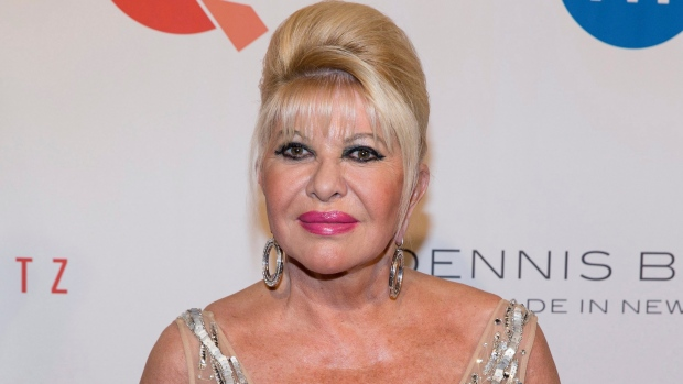 Ivana Trump, ex-wife of President Donald Trump