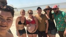 Patricia Beach resuce