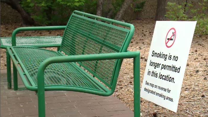 University of Regina banning smoking in August.