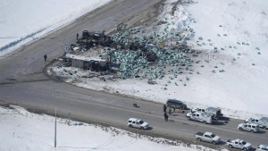 Fatal crash outside of Tisdale, Sask.