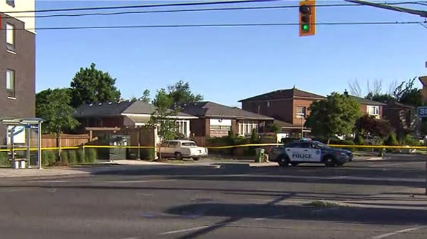 Police are searching for the driver of a vehicle who fled the scene of a deadly collision in Scarborough Junction on Thursday morning.
