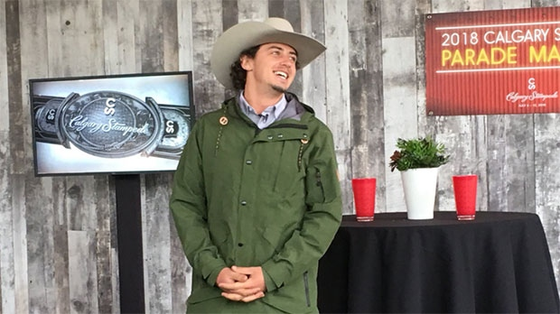 Mark McMorris has been named 2018 Calgary Stampede Parade Marshal.