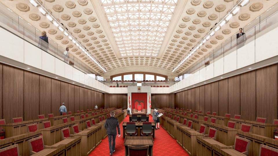 GCC Senate Chamber