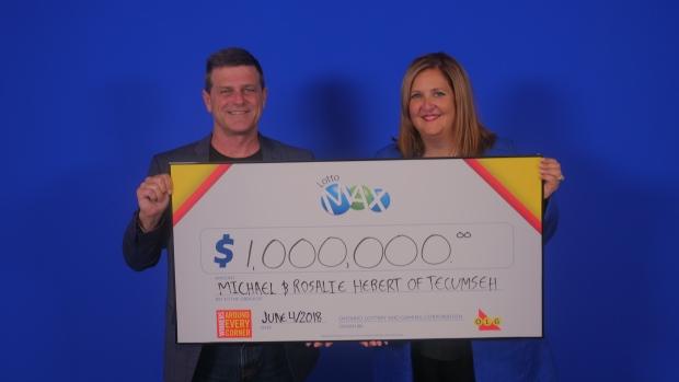 Tecumseh lotto winners
