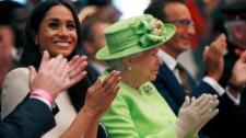 duchess meghan, queen