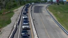 Highway 8 ramp