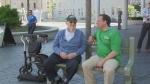 Elder wisdom: Seniors share stories with students