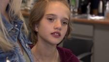 Jaidyn McGinn blood donor leukemia