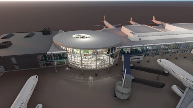 Ground was broken June 14, marking the start of 20 years of upgrades to the Vancouver International Airport. (YVR)