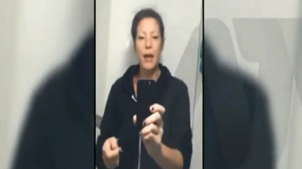 Kimberlee Kasatkin is seen in this video shared by the Abbotsford Police Department.
