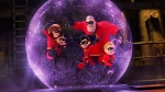 This image released by Disney Pixar shows a scene from 'Incredibles 2,' in theaters on June 15. (Disney/Pixar via AP)