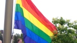 Pride flag raised at MRU