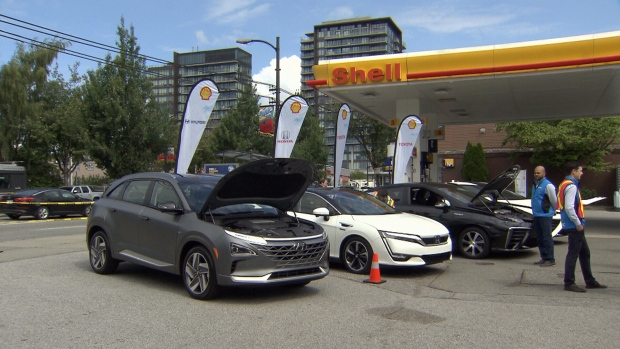 Canada S First Hydrogen Fuel Station Opens In Vancouver Ctv News