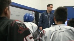 Redemption after racist incident at hockey game