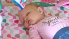 Six-month-old Sierra Keim of Carstairs has been diagnosed with MMPEI and is one of only two confirmed mosaic cases worldwide
