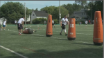 NFL players host free day-camp at U Ottawa