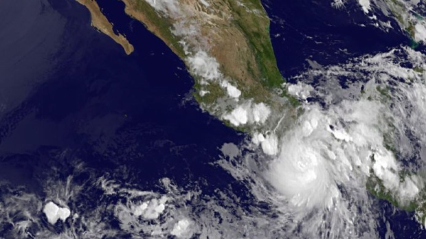 Tropical Storm Carlotta pounds Mexico's coast - Latest forecast, path, track today