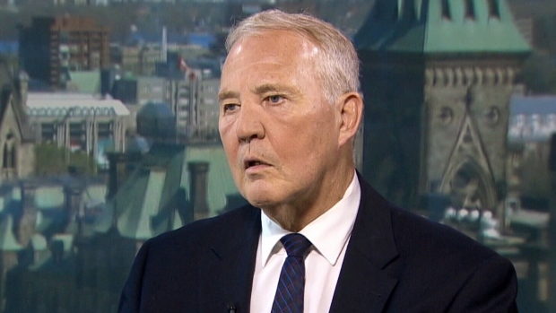 Justice Parliamentary Secretary Bill Blair on CTV's Question Period on Sunday, June 17, 2018. (CTV News)