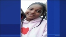 Elizabeth Gagnon-Leclerc was last seen swearing purple Puma shoes and a blue backpack with a pink zipper. She stands 5'1, weighs 90 lbs, and has braided hair down to her mid-back. (CTV Montreal)