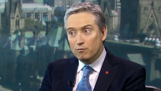 International Trade Minister Francois-Philippe Champagne on CTV's Question Period on Sunday June 17, 2018. (CTV News)