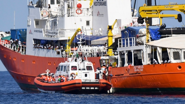 Key EU countries agree on sea migrant redistribution scheme