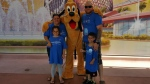 Ryken was granted a wish to visit Disney World after he was first diagnosed with cancer when he was four. (Supplied)