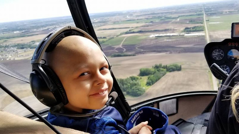 Ryken Reece's aunt, Elisha Ruzycki, wants to send Ryken and his family to Disney World to get a break from hospitals. (Supplied)