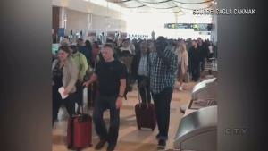 CTV National News: Winnipeg airport evacuated