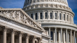 The Capitol is seen in Washington, Friday, June 15, 2018. (AP Photo/J. Scott Applewhite)