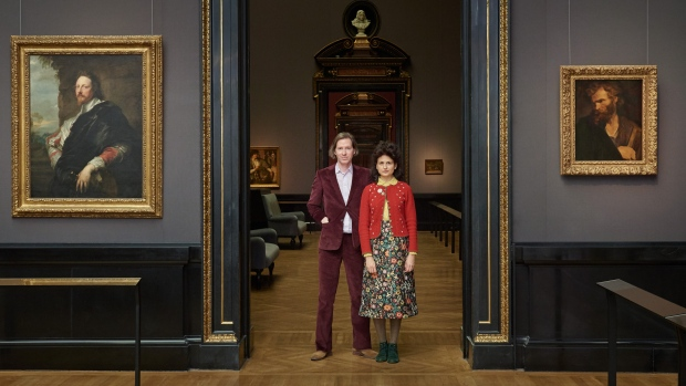 Wes Anderson and Juman Malouf for #ViennaGoesWes. (© KHM - Museumsverband)