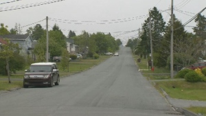 Police say a man is dead after he was shot while walking on Hornes Road in Eastern Passage, N.S., on June 18, 2018.