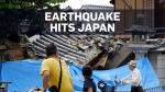At least three killed after earthquake in Japan