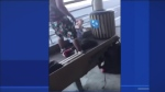 The 16-year-old victim told reporters he was sitting on a bench Friday when a young man asked to fight him. He said he refused and told the other teen he'd done nothing wrong and didn't know him. The assault was filmed and posted to social media. (CTV Montreal)