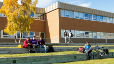 Students at Yukon College