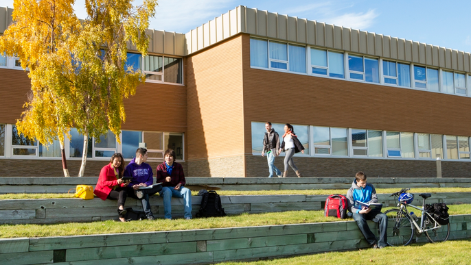 Students at Yukon College are seen in this file image. (Yukon College)