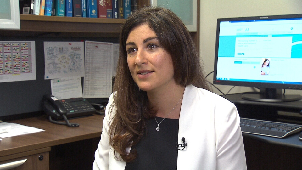 Lead author Giulia Muraca appears on CTV News, Monday, June 18, 2018.
