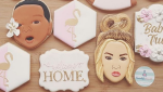 The famous Kardashian posted a photo of the custom-order cookies made by Winnipeg's Scientific Sweets on Instagram. (Instagram/scientificsweets)