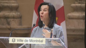 "The strategy was developed in collaboration with ""100 Resilient Cities,"" an organization pioneered by the Rockefeller Foundation. It was initiated by former Mayor Denis Coderre, and officially launched today by Valerie Plante. (CTV Montreal)"