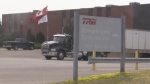 ZF TRW in Tillsonburg is closing.  Exterior of the building