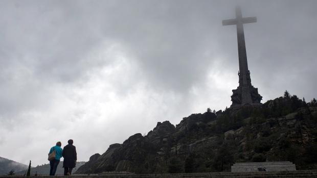 Spanish dictator General Francisco Franco's tomb