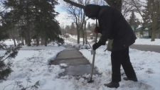 Sidewalk snow-clearing project moves ahead